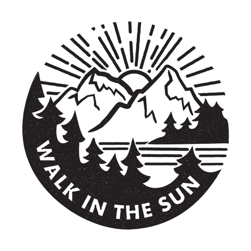 Walk in the sun Women's Longsleeve T-Shirt by rad mountain designs by Ginette