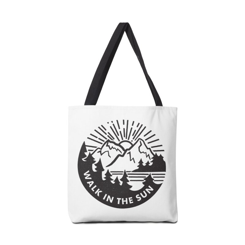 Walk in the sun Accessories Tote Bag Bag by rad mountain designs by Ginette