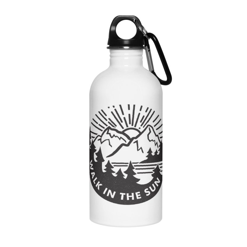 Walk in the sun Accessories Water Bottle by rad mountain designs by Ginette