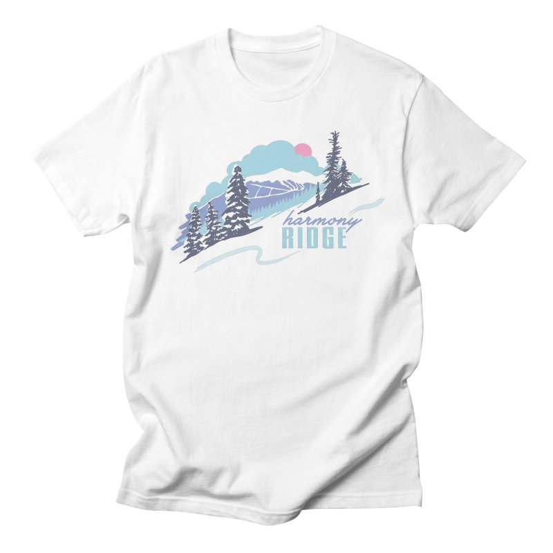 Harmony Ridge Men's T-Shirt by rad mountain designs by Ginette