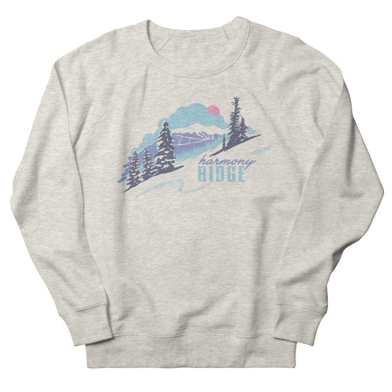 Harmony Ridge Women's Sweatshirt by rad mountain designs by Ginette