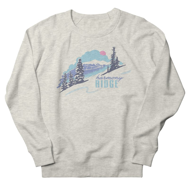 Harmony Ridge Women's French Terry Sweatshirt by rad mountain designs by Ginette