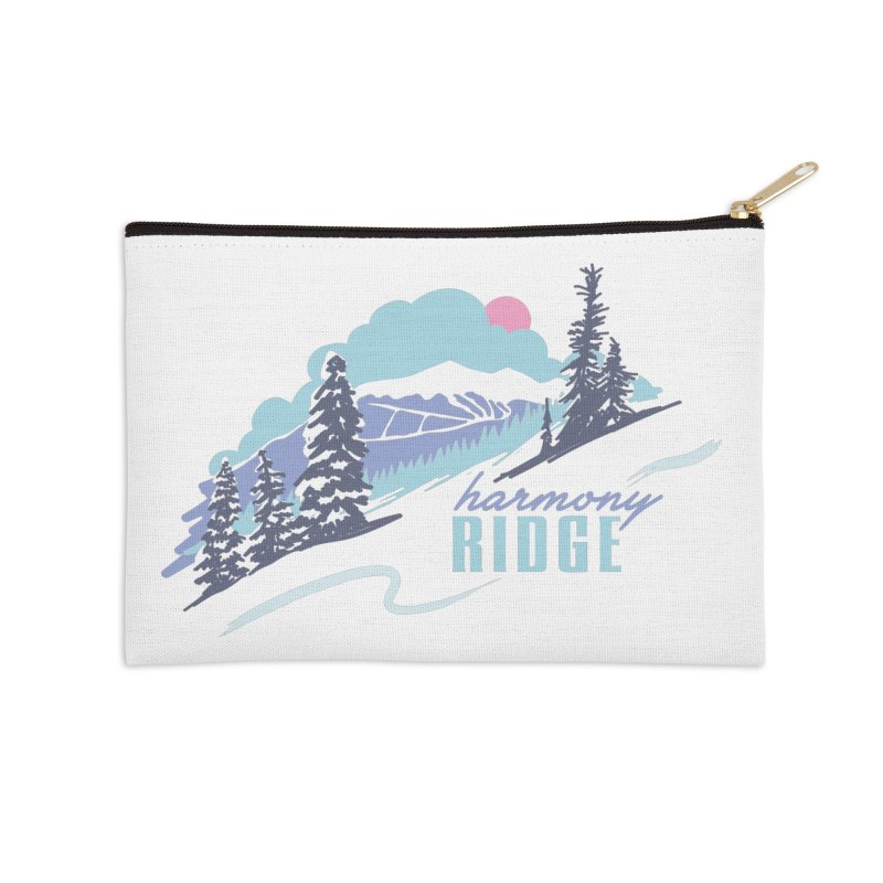 Harmony Ridge Accessories Zip Pouch by rad mountain designs by Ginette