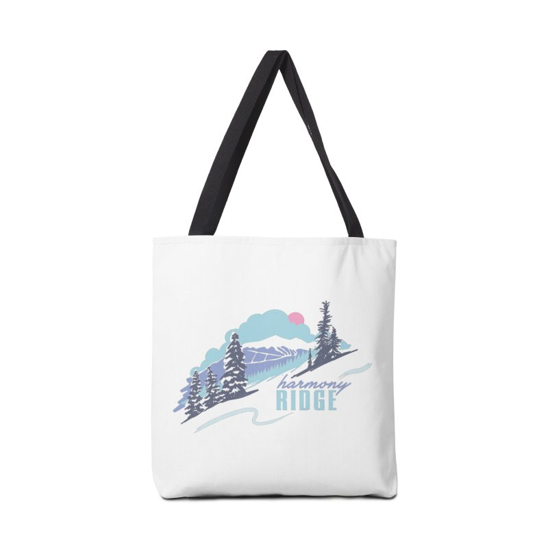 Harmony Ridge Accessories Tote Bag Bag by rad mountain designs by Ginette
