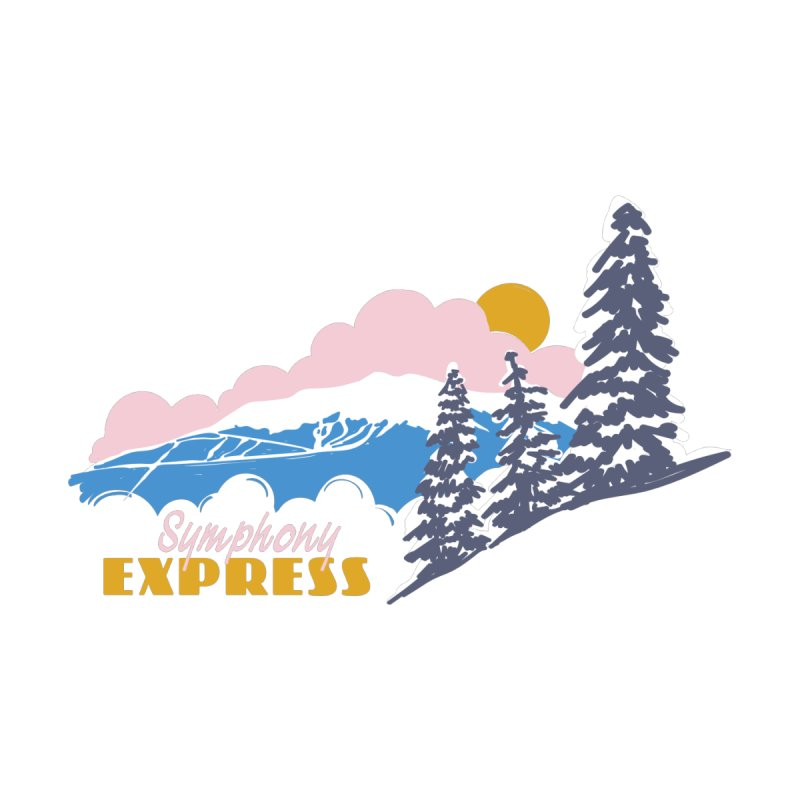 Symphony Express Kids T-Shirt by rad mountain designs by Ginette