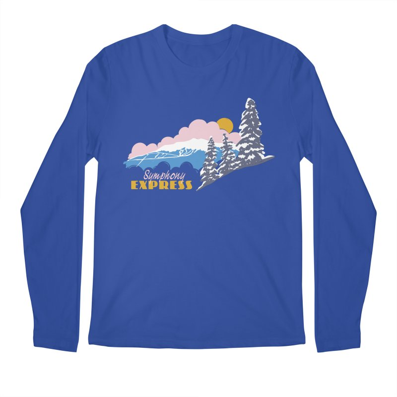 Symphony Express Men's Regular Longsleeve T-Shirt by rad mountain designs by Ginette