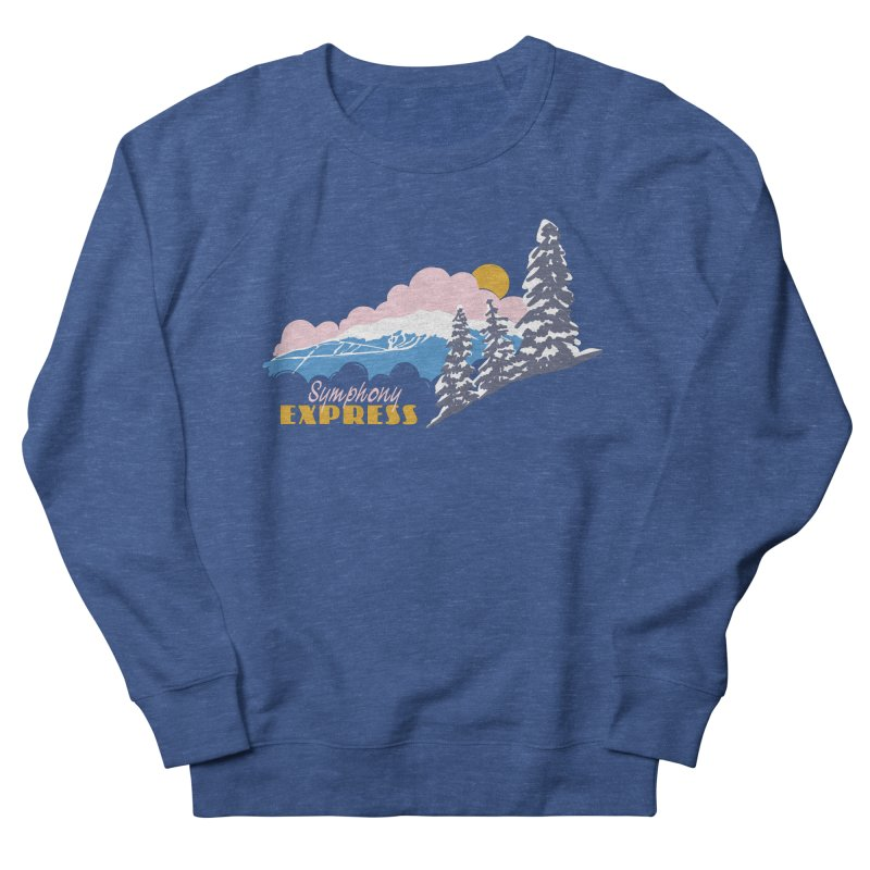 Symphony Express Women's French Terry Sweatshirt by rad mountain designs by Ginette