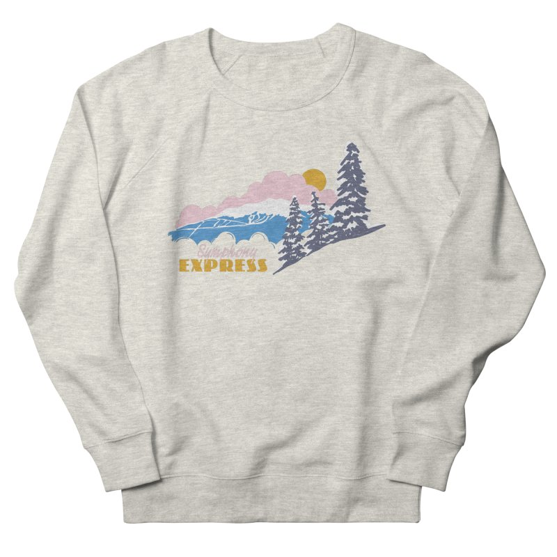 Symphony Express Women's Sweatshirt by rad mountain designs by Ginette