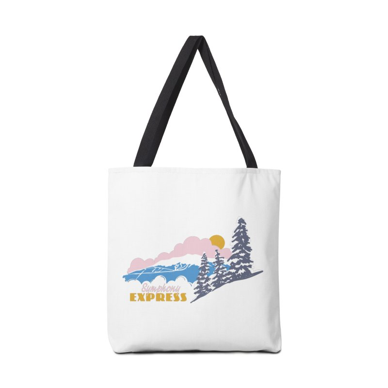 Symphony Express Accessories Tote Bag Bag by rad mountain designs by Ginette
