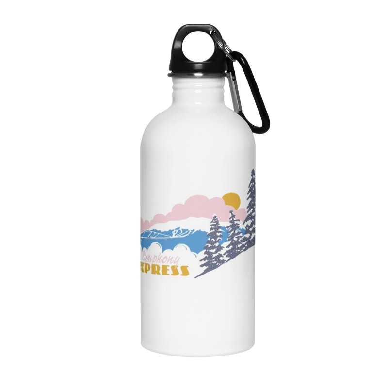 Symphony Express Accessories Water Bottle by rad mountain designs by Ginette