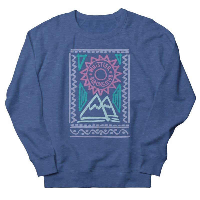 Whistler Blackcomb Retro Women's Sweatshirt by rad mountain designs by Ginette
