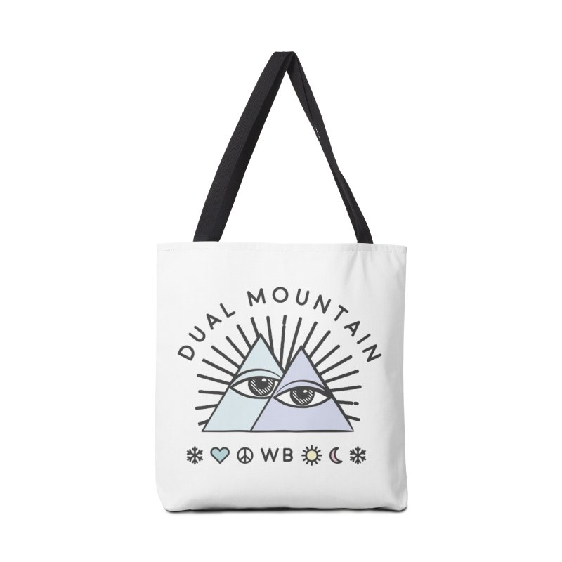 Dual Mountain Accessories Bag by rad mountain designs by Ginette