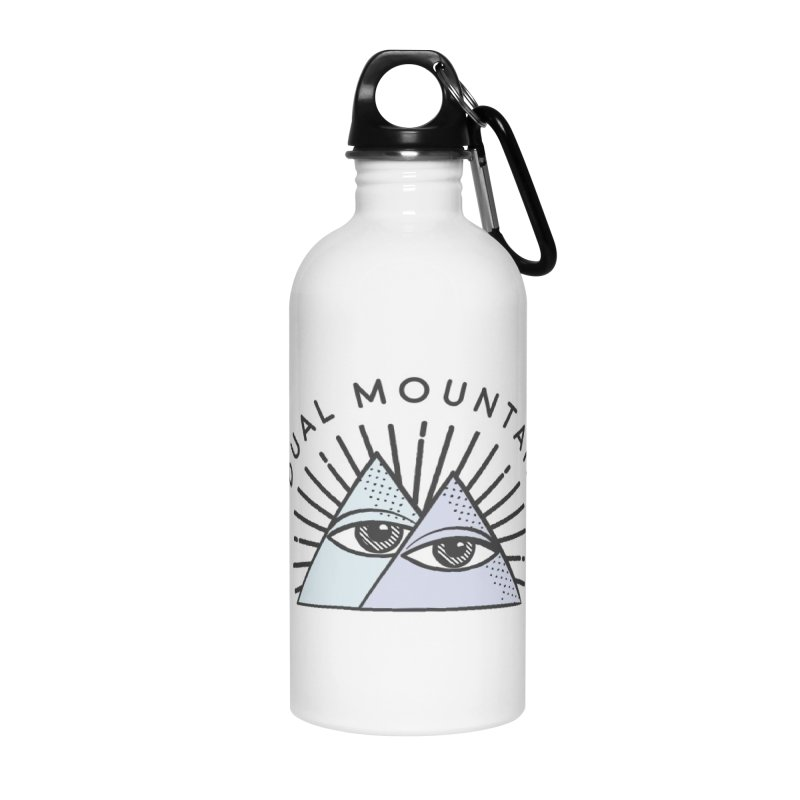 Dual Mountain Accessories Water Bottle by rad mountain designs by Ginette