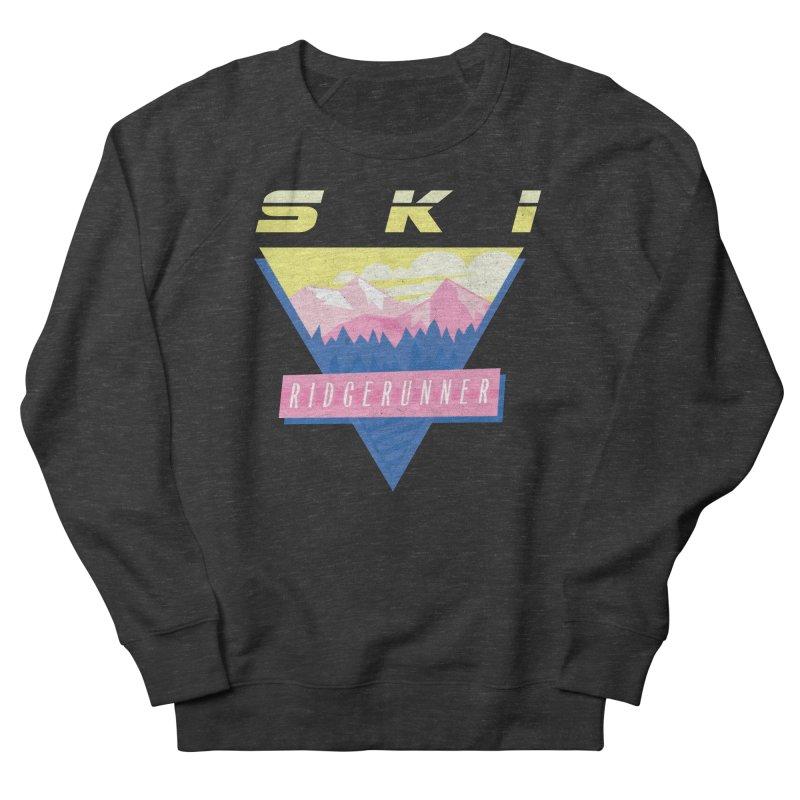 Ski Ridgerunner Women's Sweatshirt by rad mountain designs by Ginette