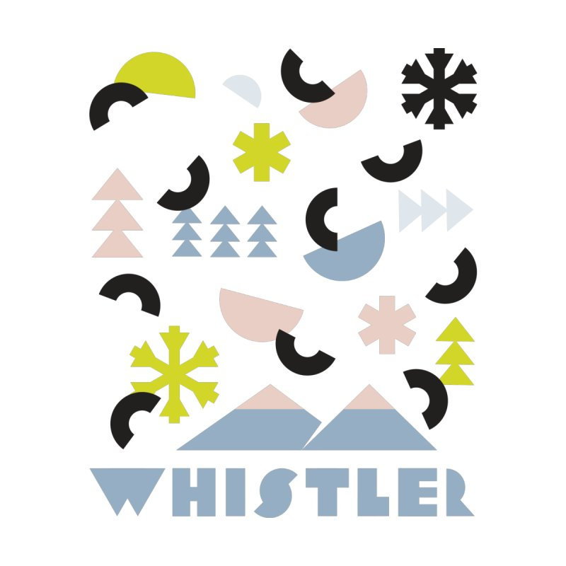 Whistler memphis retro by rad mountain designs by Ginette