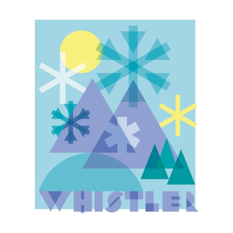 Whistler snowflakes by rad mountain designs by Ginette