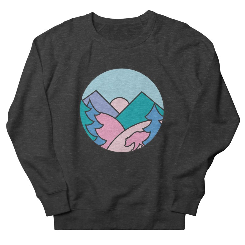 Mountain vibes Women's Sweatshirt by rad mountain designs by Ginette