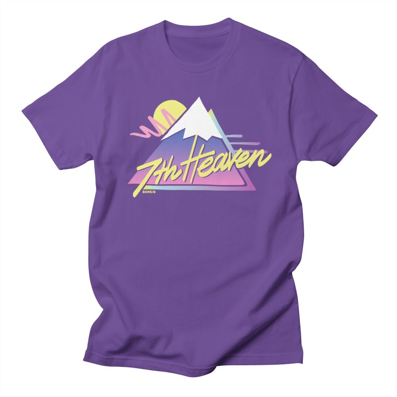 7th Heaven Men's Regular T-Shirt by rad mountain designs by Ginette
