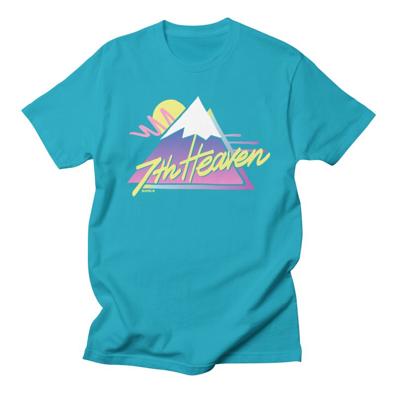7th Heaven Men's T-Shirt by rad mountain designs by Ginette