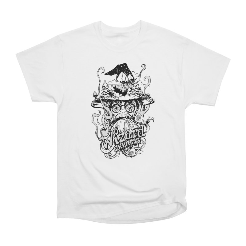 Wizard Express Women's T-Shirt by rad mountain designs by Ginette