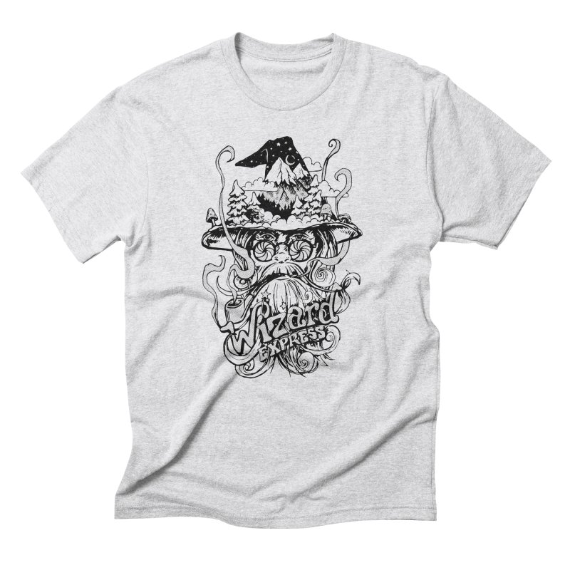 Wizard Express Men's T-Shirt by rad mountain designs by Ginette