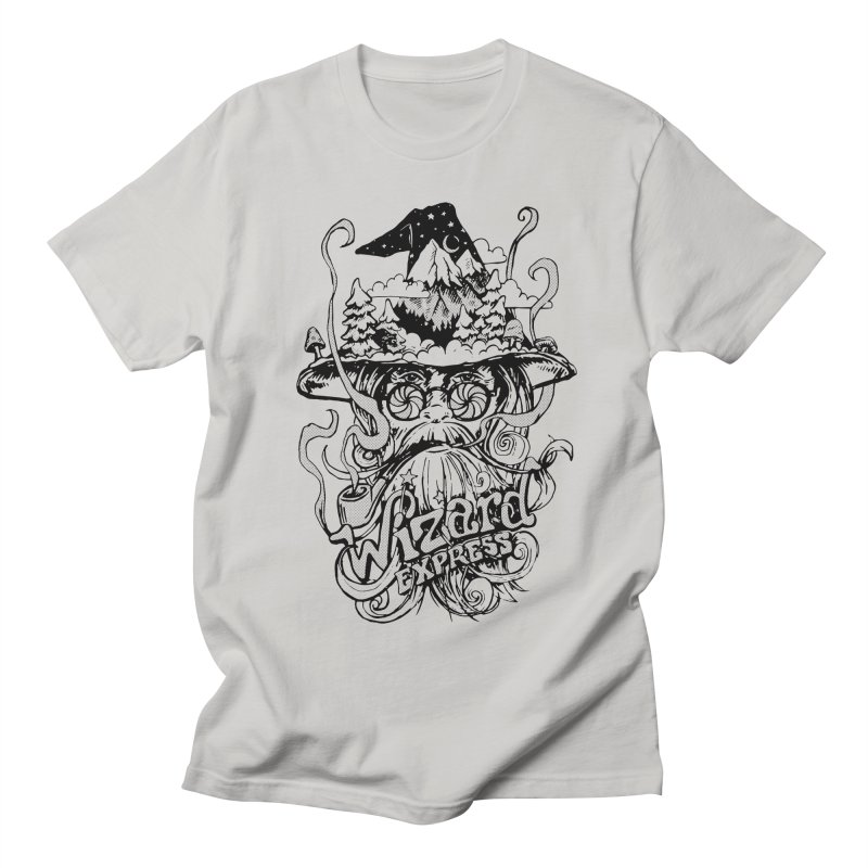 Wizard Express Men's Regular T-Shirt by rad mountain designs by Ginette