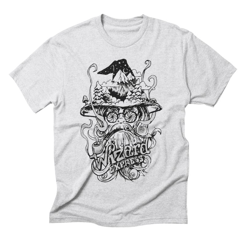Wizard Express Men's Triblend T-Shirt by rad mountain designs by Ginette