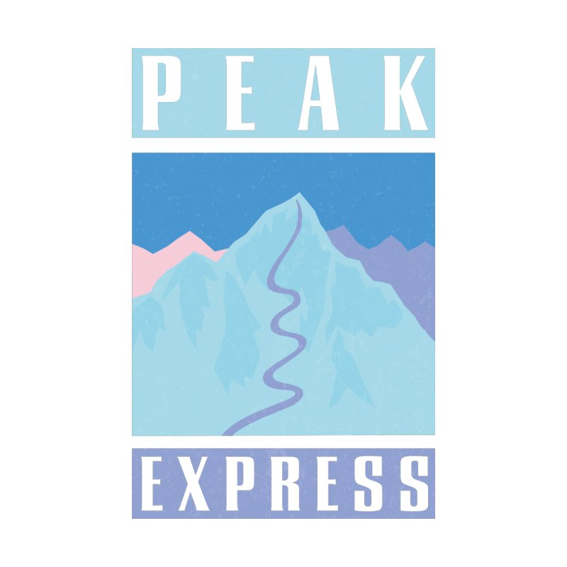 Peak Express Accessories Notebook by rad mountain designs by Ginette