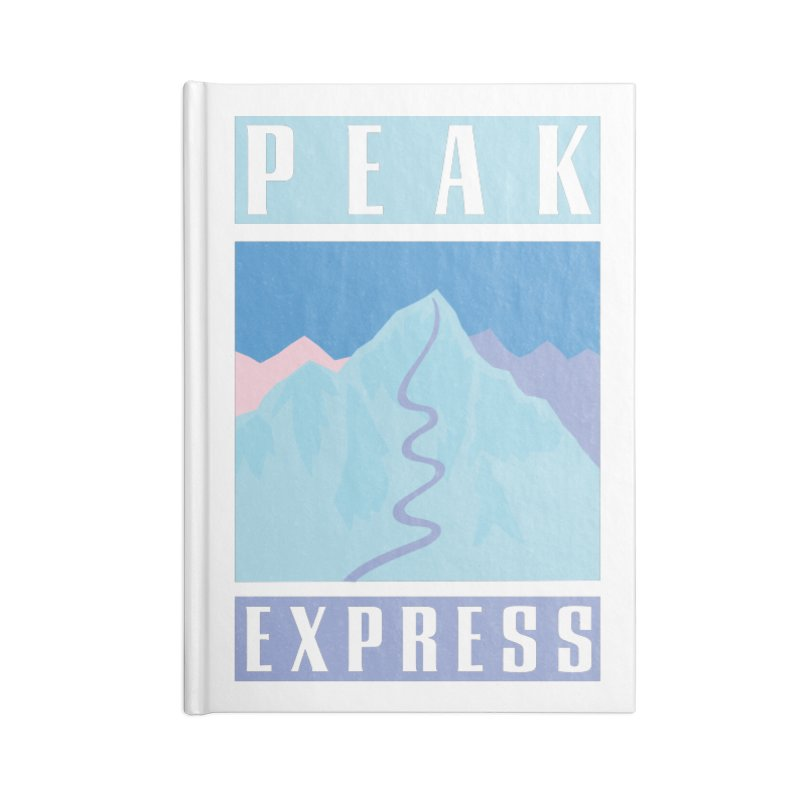 Peak Express Accessories Lined Journal Notebook by rad mountain designs by Ginette