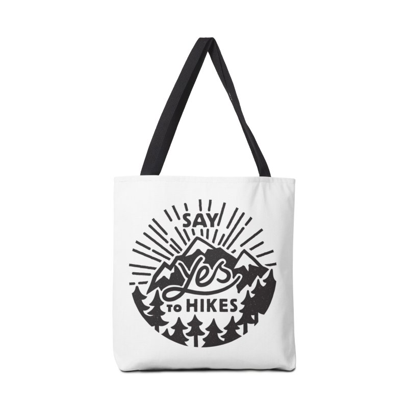 Say Yes to Hikes Accessories Bag by rad mountain designs by Ginette