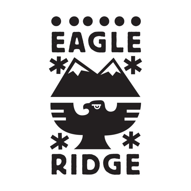 Eagle Ridge Women's Longsleeve T-Shirt by rad mountain designs by Ginette