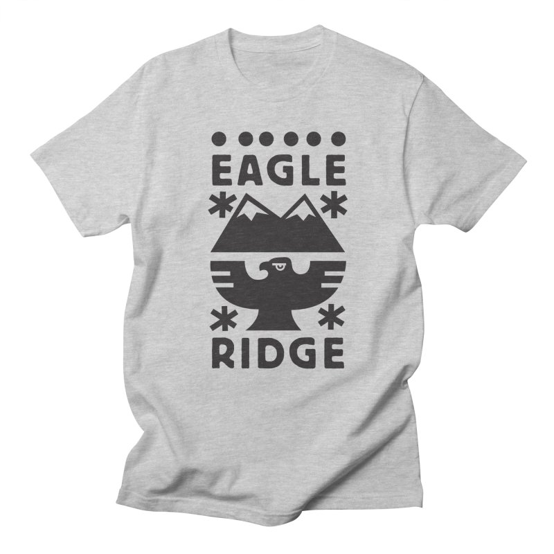 Eagle Ridge Men's Regular T-Shirt by rad mountain designs by Ginette