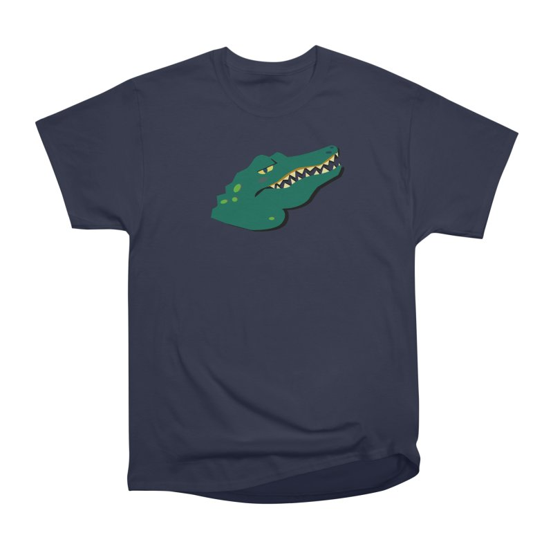 The Gator Men's Heavyweight T-Shirt by Ginger's Shop