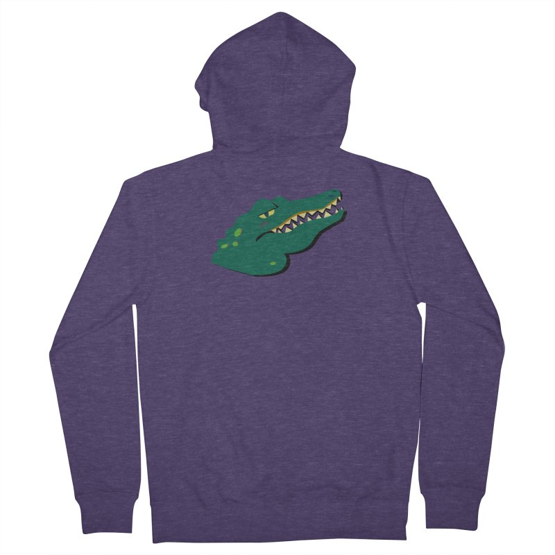The Gator Men's Zip-Up Hoody by Ginger's Shop