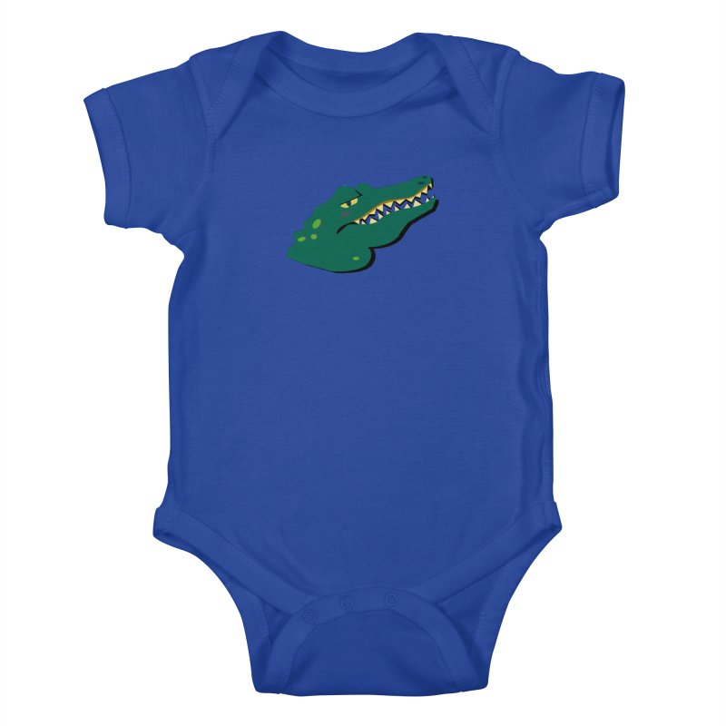 The Gator Kids Baby Bodysuit by Ginger's Shop