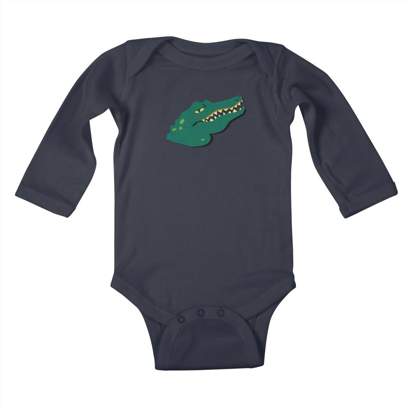 The Gator Kids Baby Longsleeve Bodysuit by Ginger's Shop