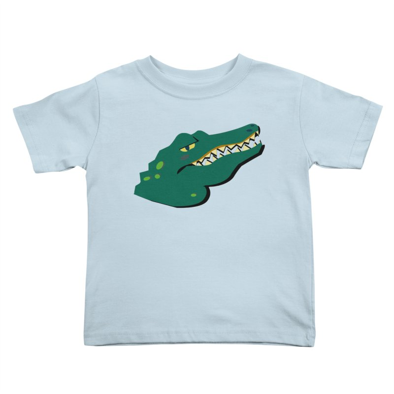 The Gator Kids Toddler T-Shirt by Ginger's Shop