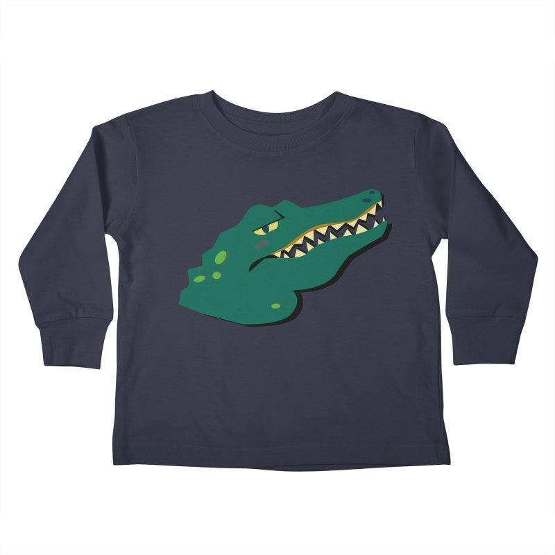 The Gator Kids Toddler Longsleeve T-Shirt by Ginger's Shop