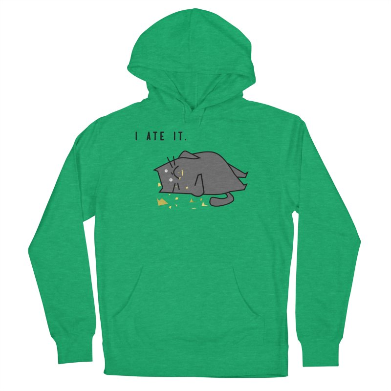 The Cat Ate It Men's Pullover Hoody by Ginger's Shop