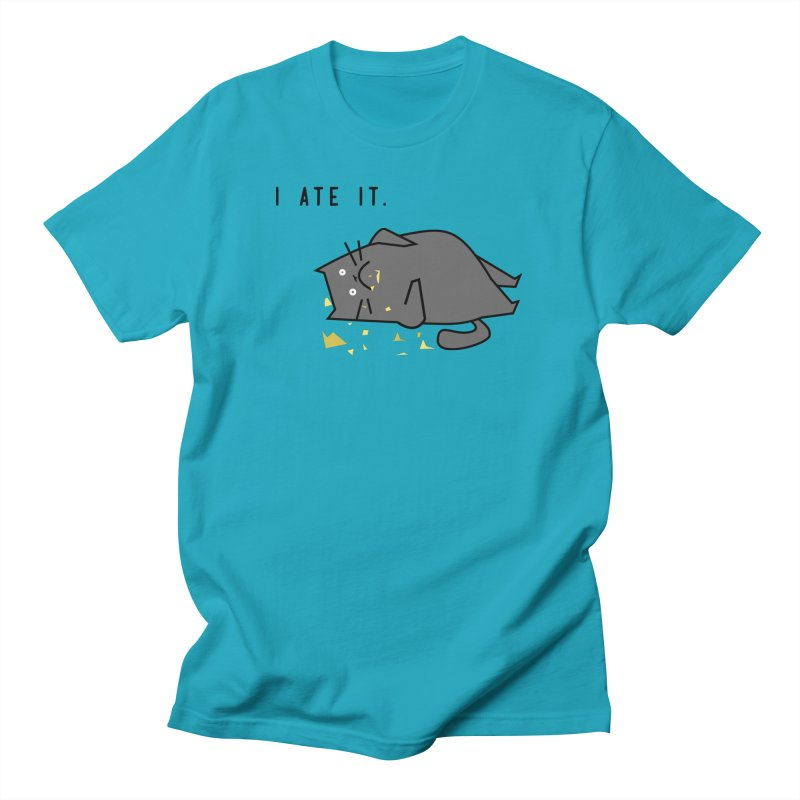 The Cat Ate It Women's Unisex T-Shirt by Ginger's Shop