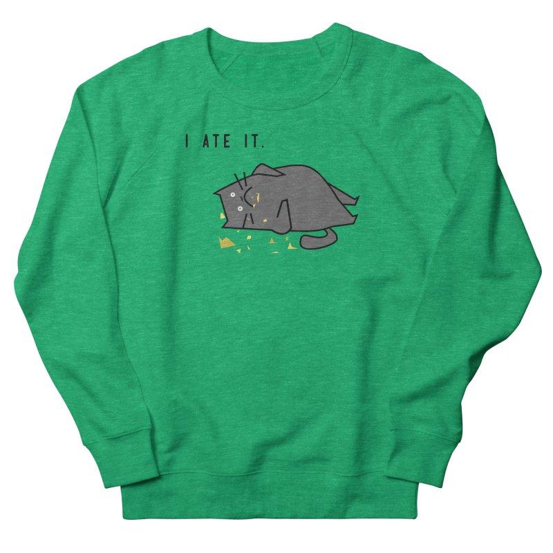 The Cat Ate It Men's Sweatshirt by Ginger's Shop