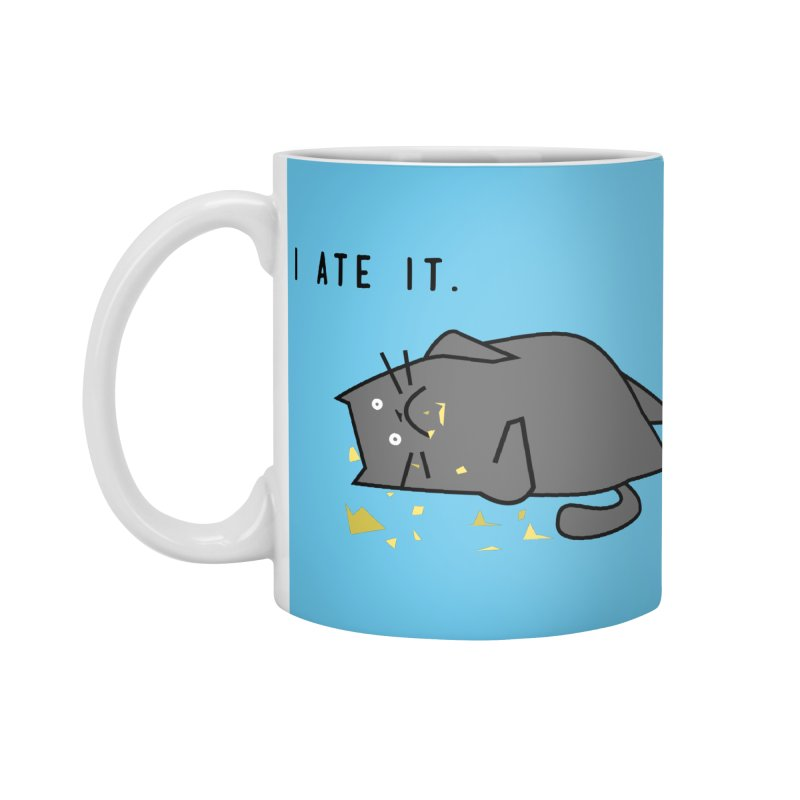 The Cat Ate It Accessories Mug by Ginger's Shop