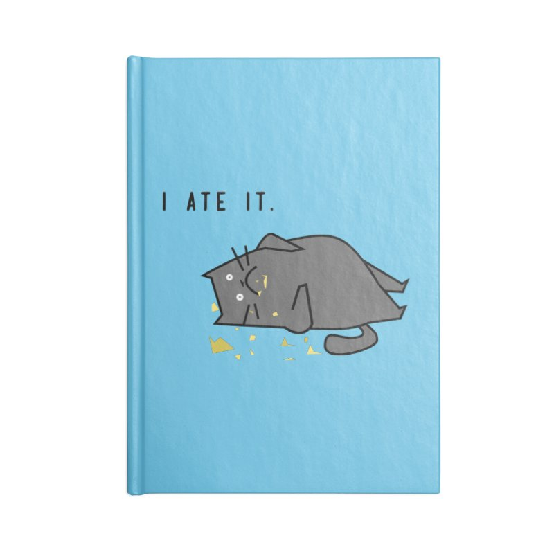 The Cat Ate It Accessories Notebook by Ginger's Shop