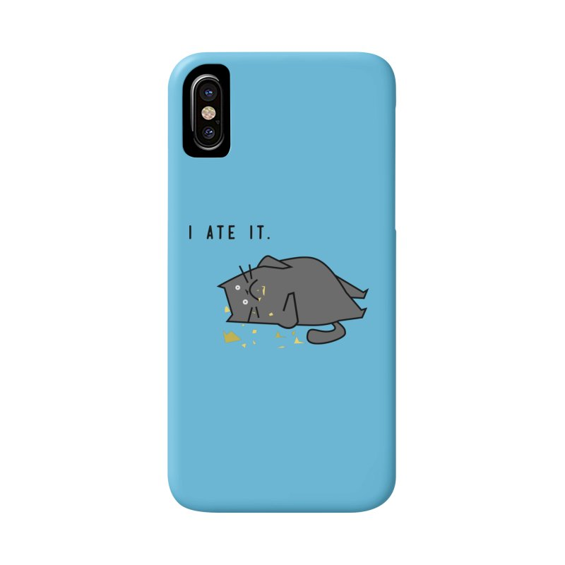 The Cat Ate It Accessories Phone Case by Ginger's Shop
