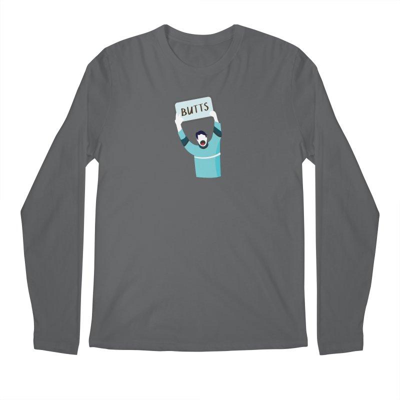 Butts Men's Longsleeve T-Shirt by Ginger's Shop