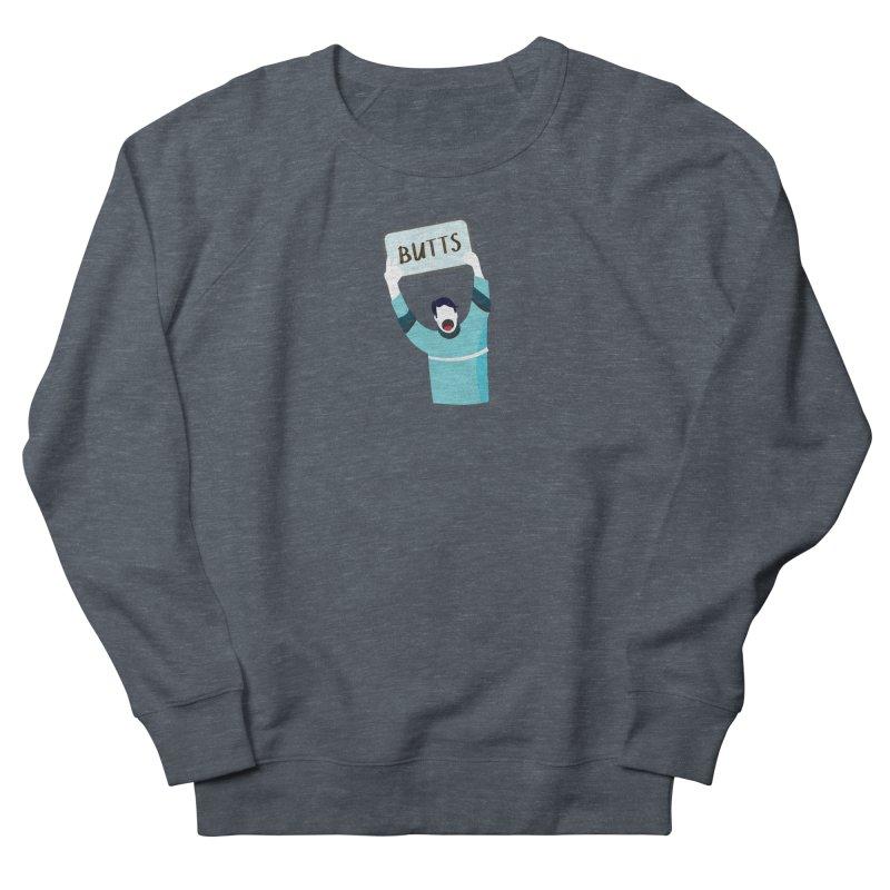 Butts Men's Sweatshirt by Ginger's Shop