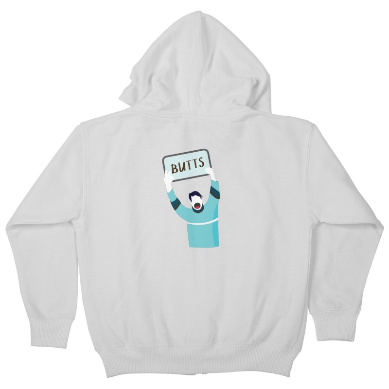 Butts Kids Zip-Up Hoody by Ginger's Shop