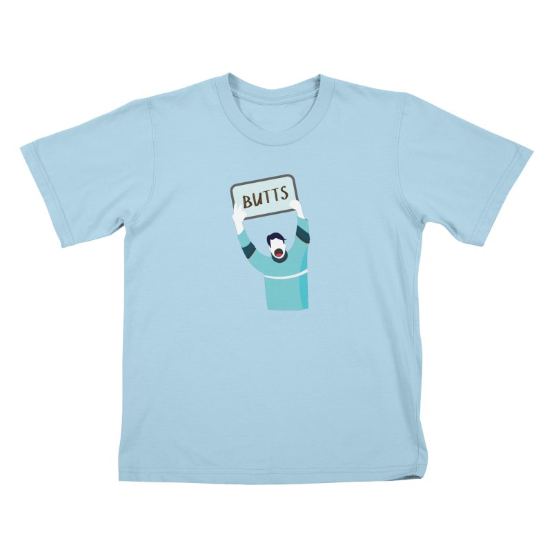 Butts Kids T-shirt by Ginger's Shop