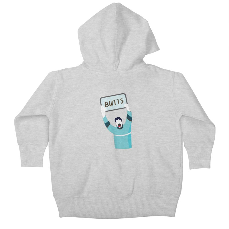 Butts Kids Baby Zip-Up Hoody by Ginger's Shop