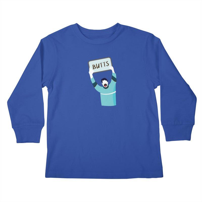 Butts Kids Longsleeve T-Shirt by Ginger's Shop